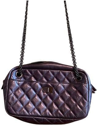 Chanel Camera Metallic Leather Handbags