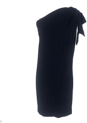 Onelady One Shoulder Dress Navy Blue Fran