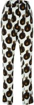Lanvin bottle print trousers - women - Silk/Viscose - 36