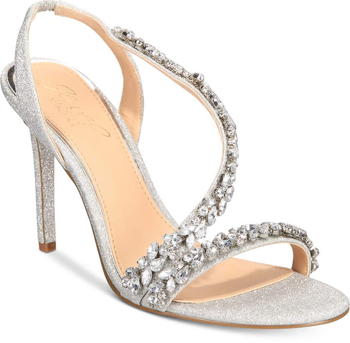 77a72cacb Badgley Mischka Silver Women's Shoes - ShopStyle