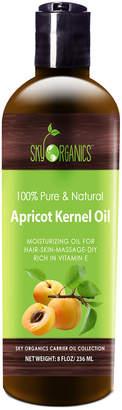 Sky Organics 8Oz Organic Cold-Pressed Apricot Kernel Oil