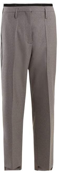 Golden Goose Straight Leg Trousers - Womens - Grey