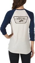 Vans Authentic Boyfriend Baseball Tee