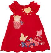 Mayoral Knit Little Bear Dress, Size 6-36 Months