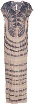 Raquel Allegra Jersey tie-dye slouchy maxi dress