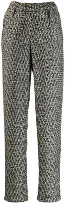 Almaz Straight Tweed Trousers