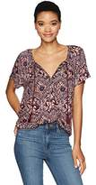 Lucky Brand Women's Printed Floral Top
