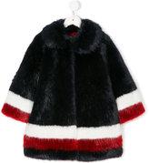 MonnaLisa color block striped coat