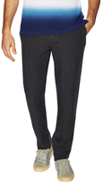 Burberry Linen Flat Front Trousers