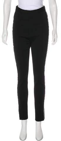 Givenchy High-Rise Lace-Up Pants w/ Tags