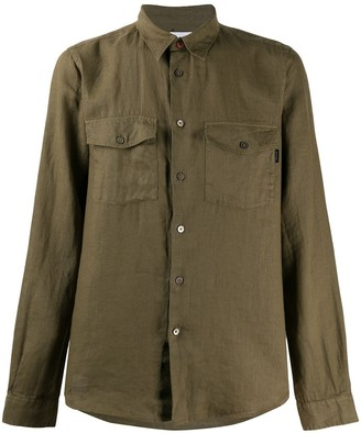 Paul Smith Long-Sleeved Chest-Pockets Shirt