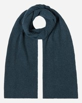 N.Peal Short Ribbed Cashmere Scarf