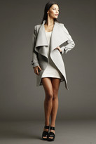 Chris Gramer - Shelley Cashmere Trench Coat In Dove