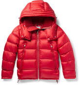 Moncler Pascal Quilted Shell Down Jacket - Red