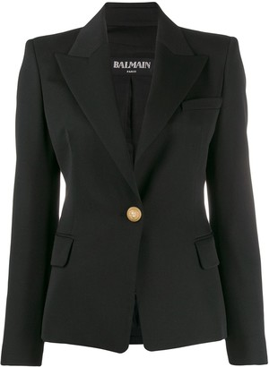 Balmain Single-Button Blazer