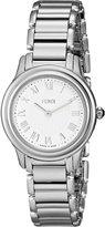 Fendi Women's F251024000 Classico Analog Display Quartz Silver Watch