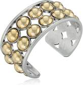 """Kenneth Cole New York Metal Spheres"""" Two Tone Ball Cuff Bracelet"""