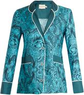 Mary Katrantzou Tarot dragon-print silk-twill jacket