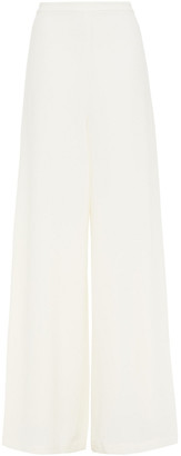 Zimmermann Espionage Crepe Wide-leg Pants