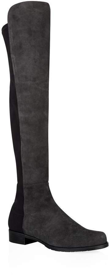 Stuart Weitzman Suede 5050 Over-The-Knee Boots