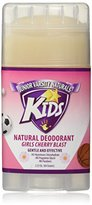 Junior Varsity Naturals Girls Cherry Blast Kids Deodorant 2.25 Oz.(64 Grams)