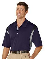 PGA TOUR® Men's Navy Three Color Stacked Polo