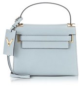 Valentino Women's Light Blue Leather Handbag.