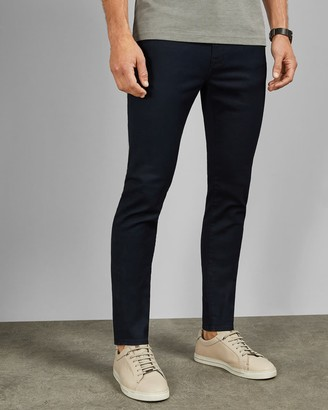 Ted Baker Tapered Fit Blue Jeans