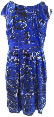 Betty Jackson \N Blue Cotton Dress for Women