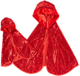 Red Sequin Cape & Doll Cape