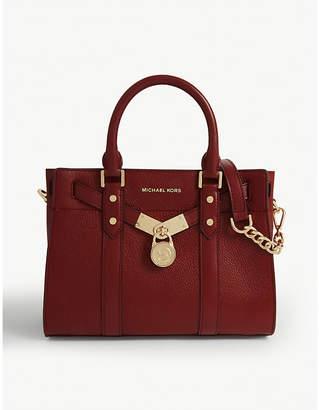 MICHAEL Michael Kors Hamilton Legacy small leather satchel