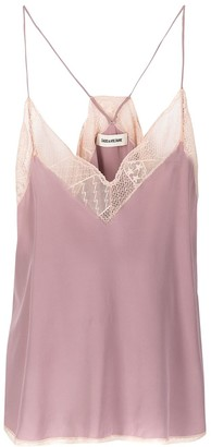 Zadig & Voltaire Christy sleeveless blouse