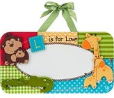 Fisher-Price L is for Love Personalized Baby Wall Plaque by