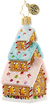 Christopher Radko Tasty Triple Decker Gingerbread House Ornament