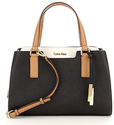 Calvin Klein Color Block Satchel