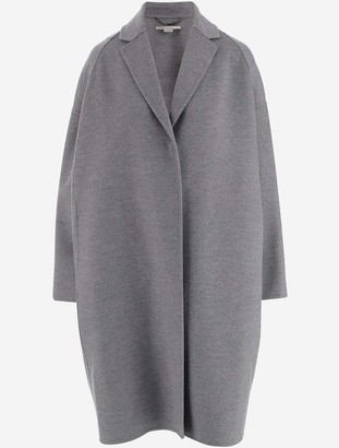 Stella McCartney Gray Wool Women's Coat