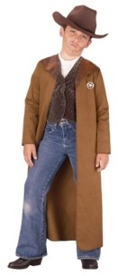 BuySeasons Old West Sheriff Little and Big Boys Costume