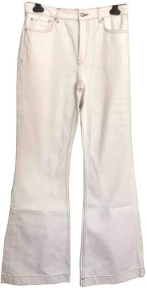 MANGO White Denim - Jeans Trousers for Women
