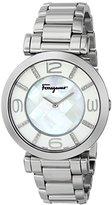 Salvatore Ferragamo Women's FG3050014 GANCINO DECO Stainless Steel Watch with Link Bracelet