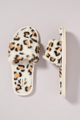 Maile Faux Fur Slippers By Casa Clara in Assorted Size S