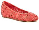 Eileen Fisher Strap Weave Wedge Flat