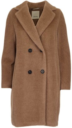 S Max Mara 'S Max Mara Double-Breasted Coat