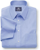 JCPenney Stafford Travel Short-Sleeve Easy-Care Broadcloth Shirt-Big & Tall