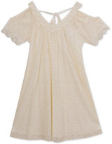 Rare Editions Crochet Dress, Big Girls (7-16)