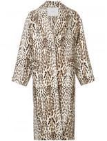 ADAM by Adam Lippes animal print coat