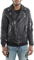 Cult of Individuality Cult x King Baby Faux Leather Moto Jacket