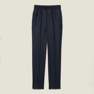 Sandro Pinstripe Wool Pants