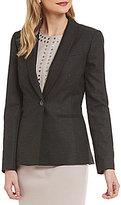 Antonio Melani Bareil Subtle Stripe Blazer Jacket
