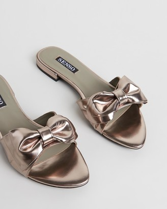 Senso Women's Silver Flat Sandals - Zilda III - Size One Size, 37 at The Iconic