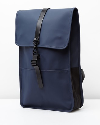 Rains Blue Backpacks - Backpack - Size One Size at The Iconic